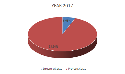 structure costs project costs
