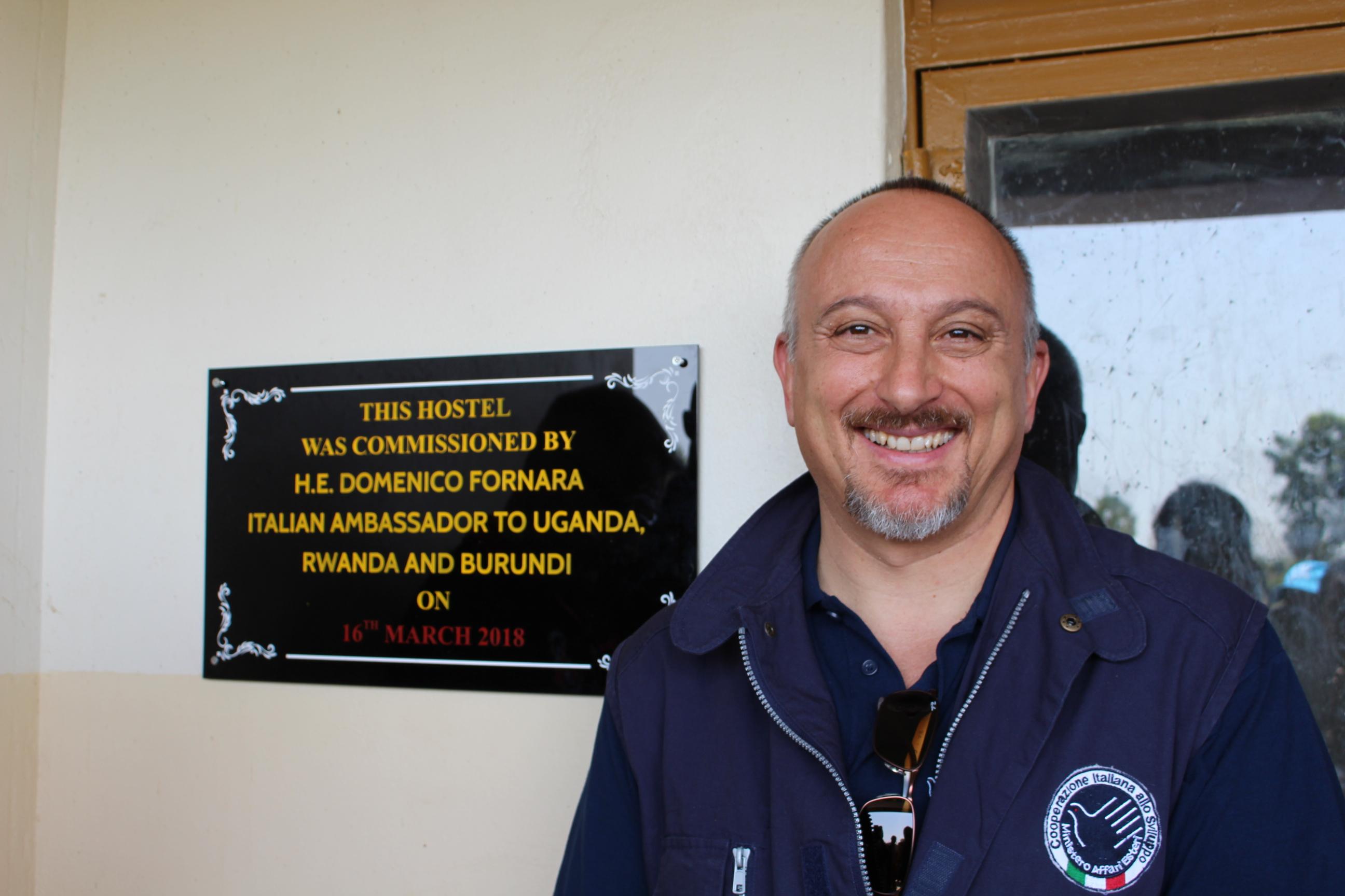16.03.2018 – Intervista a Domenico Fornara, ambasciatore italiano in Uganda, Rwanda e Burundi.